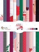 Bloco de Cards - Coleção Espalhando Amor - JuJu Scrapbook