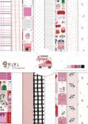 Bloco de Folhas A4 - Coleção Espalhando Amor - JuJu Scrapbook