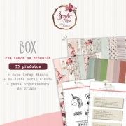 Box Coleção Sonho Meu - Juju Scrapbook