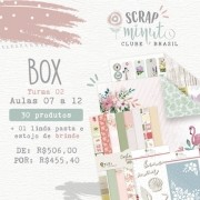 Box II Scrap Minuto Clube Brasil -Juju Scrapbook