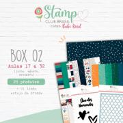 Box II Stamp Club Brasil -Juju Scrapbook
