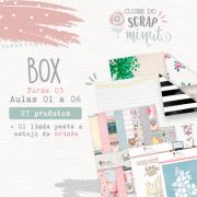 Box III Scrap Minuto Clube Brasil -Juju Scrapbook