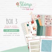 Box III Stamp Club Brasil -Juju Scrapbook