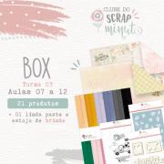 Box IV Scrap Minuto Clube Brasil -Juju Scrapbook