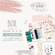 Box I - Turma 4 Clube do Scrap Minuto - Juju Scrapbook