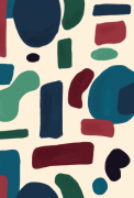 Caderno Abstrato - Scrap Minuto - Coleção Nosso Herói / Juju Scrapbook