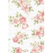 Caderno Floral - Scrap Minuto - Coleção Cartas para Você / Juju Scrapbook