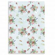 Caderno Amor em Forma de Flor - Scrap Minuto - Coleção Abraço de Urso / JuJu Scrapbook
