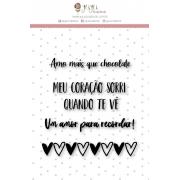 Carimbo G Amor para Recordar - Coleção Espalhando Amor - JuJu Scrapbook