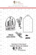 Carimbo G Ano Novo - Coleção Tempo de Celebrar - JuJu Scrapbook