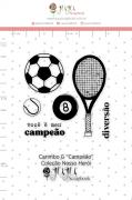 Carimbo G Campeão - Coleção Nosso Herói - JuJu Scrapbook