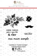 Carimbo G Conte Comigo - Coleção Nosso Herói - JuJu Scrapbook