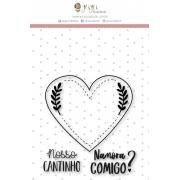 Carimbo G Nosso Cantinho - Coleção Espalhando Amor - JuJu Scrapbook