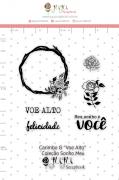 Carimbo G Voe Alto - Coleção Sonho Meu - JuJu Scrapbook