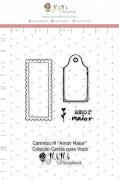 Carimbo M Amor Maior - Coleção Cartas para Você - JuJu Scrapbook