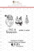 Carimbo M É Natal - Coleção Tempo de Celebrar - JuJu Scrapbook