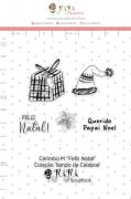 Carimbo M Feliz Natal - Coleção Tempo de Celebrar - JuJu Scrapbook