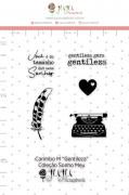 Carimbo M Gentileza - Coleção Sonho Meu - JuJu Scrapbook