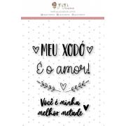 Carimbo M Meu Xodó - Coleção Espalhando Amor - JuJu Scrapbook