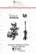 Carimbo M Realizando Sonhos - Coleção Sonho Meu - JuJu Scrapbook