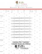 Carimbo Mini Cartinha - Coleção Tempo de Celebrar - JuJu Scrapbook