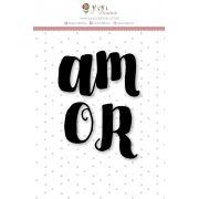 Carimbo M Amor - Coleção Felizes para Sempre - JuJu Scrapbook