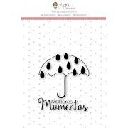 Carimbo M Melhores Momentos - Coleção Mundo Mágico - JuJu Scrapbook
