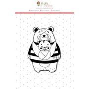 Carimbo XG Mãe Ursa - Coleção Abraço de Urso - JuJu Scrapbook