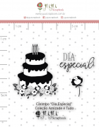 Carimbo Mini Dia Especial - Coleção Amizade é Tudo - JuJu Scrapbook