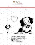 Carimbo Mini Melhor Amigo Coleção Amizade é Tudo - JuJu Scrapbook
