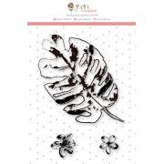 Carimbo Mini Bosque Encantado - Coleção Paraíso Tropical - JuJu Scrapbook
