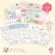 Coleção Paraíso Tropical - JuJu Scrapbook