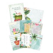 Coleção Paraíso Tropical by Babi Kind - Kit de Cards