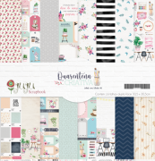 Kit Coordenado - Coleção Quarentena Criativa - JuJu Scrapbook