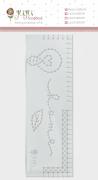 Régua de Costura Home - Coleção Quarentena Criativa - JuJu Scrapbook