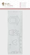Régua de Costura Plantinhas - Coleção Quarentena Criativa - JuJu Scrapbook