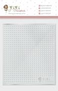 Régua de Costura Pontinhos - Coleção Quarentena Criativa - JuJu Scrapbook