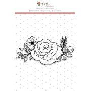 Carimbo Primavera - Coleção Shabby Dreams - JuJu Scrapbook