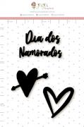 Enfeite Blackboard Dia dos Namorados - Coleção Espalhando Amor - Juju Scrapbook