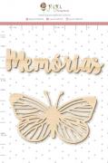 Enfeite Pinus Memórias  - Coleção Família para Sempre - Juju Scrapbook