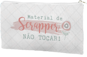 Estojo Material de Scraper - JuJu Scrapbook