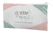 Estojo Scrap Minuto - JuJu Scrapbook