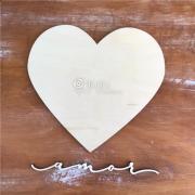Estrutura Coração + Amor - Juju Scrapbook