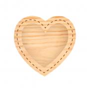 Estrutura Moldura de Coração - Coleção Família para Sempre