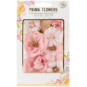 Flores Decorativas Rosa Prima Flowers - Prima Marketing