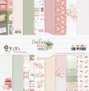 Kit Coordenado - Coleção Cartas para Você - JuJu Scrapbook