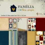 Kit Coordenado - Coleção Família para Sempre / JuJu Scrapbook
