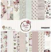 Kit Coordenado - Coleção Sonho Meu - JuJu Scrapbook
