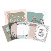 Kit de Cards Celebre o Amor - Coleção Felizes para Sempre / JuJu Scrapbook