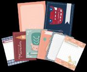 Cards Melhores Momentos - Coleção Mundo Mágico - JuJu Scrapbook